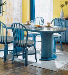 table ronde de salle a manger avec rallonges brin d39ouest With meuble salle À manger avec table ronde a rallonge