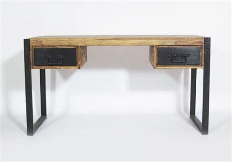 bureau metal et bois 42 idées déco de bureau pour votre loft