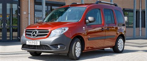 Alle informationen zu den citan aufbauformen, technischen daten citan kastenwagen. Mercedes-Benz Citan L - Tripod Mobility