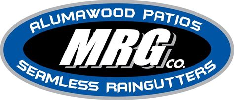 mrg co aluminum patio covers and seamless gutters