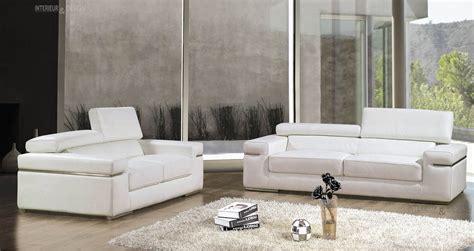 canapé italien luxe salon moderne cuir