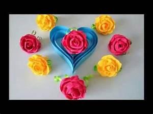 Rosen Aus Servietten Basteln : rose basteln mit papier bastelideen diy geschenke selber machen origami blumen falten ~ Frokenaadalensverden.com Haus und Dekorationen