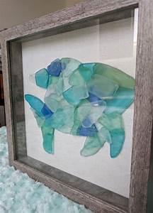 Sea, Glass, Fish, Fish, Artwork, Seaglass, Artwork, Nautical