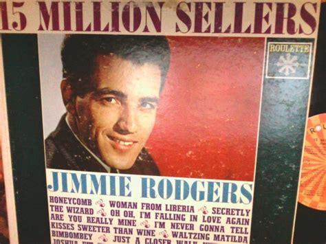 Jimmie Rodgers Record Album Vinyl