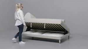 Couch Bett Ikea : ikea flottebo 120 anleitung vom sofa zum bett youtube ~ Indierocktalk.com Haus und Dekorationen