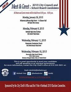2015 City Council & School Board Candidates Meet & Greet ...