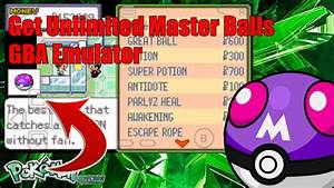 How To Get Unlimited Master Balls In Pokemon Emerald Gba
