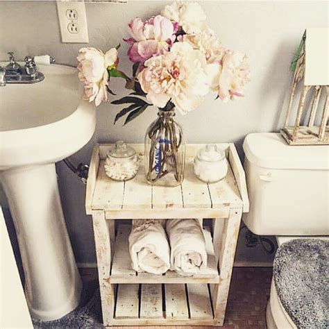 shabby chic organization ideas shabby chic wood bathroom shelves