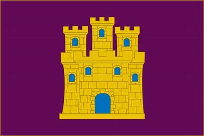 Castilian Flag Castile Wikipedia Purple
