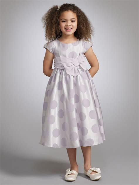 cute flower girl spotty dress john lewis real wedding