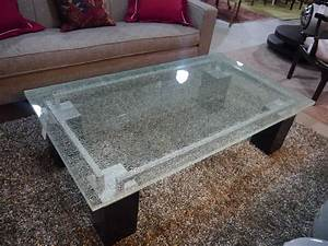 coffee tables ideas best shattered glass coffee table for With glass top coffee tables for sale