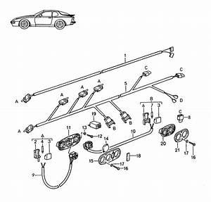 Porsche 944 Trim For Switch Satin Black  Satinblack