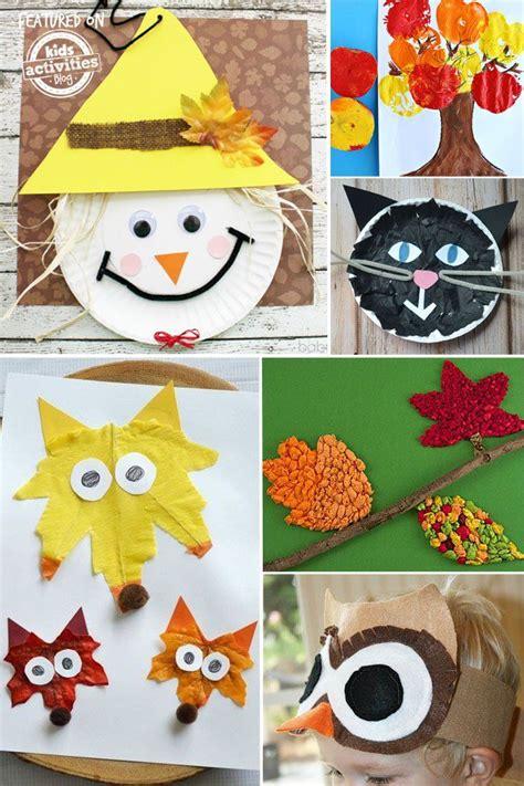 super fun preschool fall crafts kids fall crafts