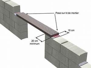 Linteau Beton Brico Depot : pr linteau leroy merlin construction maison b ton arm ~ Dailycaller-alerts.com Idées de Décoration