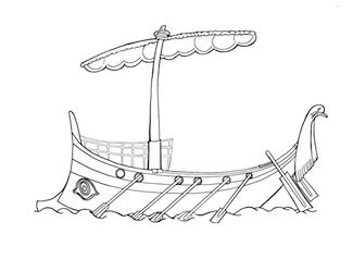 How To Draw A Ancient Boat by Classic Tales Faculty Of Education Of
