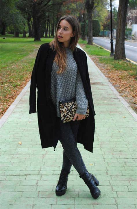 30 Formas De Darle Vida A Tu Clu00e1sico Abrigo Negro | Cut u0026 Paste u2013 Blog de Moda