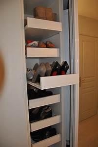 Idee Rangement Chaussure : placards rangements placard et dressing sur mesure rangement am nagement biblioth que o logis ~ Teatrodelosmanantiales.com Idées de Décoration