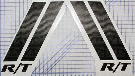 vinyldecalscom dodge magnum challenger rt style hood