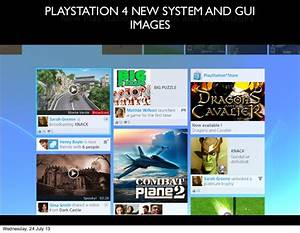 PS4.SX - Playstation 4 system and gui images