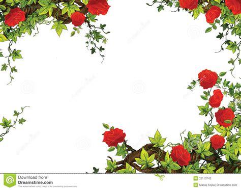 rose frame border template  roses