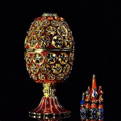 Hollow Faberge Egg Gift Qifu Handicraft