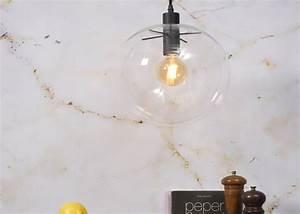 Suspension Boule En Verre : suspension boule en verre transparent warsaw chez ksl living ~ Melissatoandfro.com Idées de Décoration