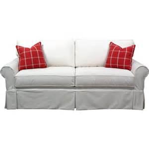 slip cover sofa at wayfair cabin pinterest