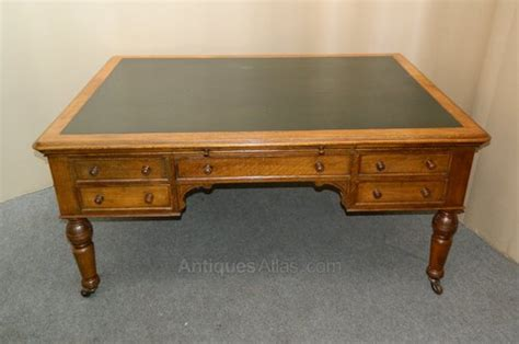 Oak Partners Desk  Antiques Atlas. Hooker Writing Desks. Glass Top Dining Table Set. Sams Tables. Space Saving Dining Table And Chairs. Mouse For Glass Desk. Drawer Nightstand. Wine Rack Table. Larkin Desk Value