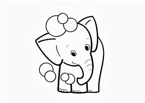 elefante  colorir  imprimir muito facil colorir  pintar