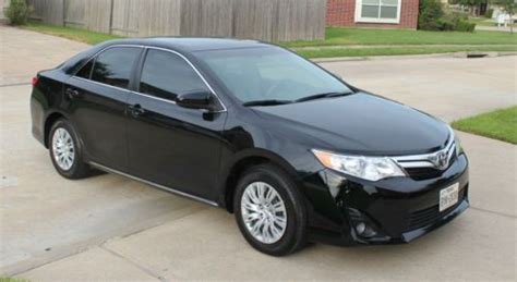 2013 toyota camry mpg purchase used 2013 toyota camry le sedan 4 door 2 5le
