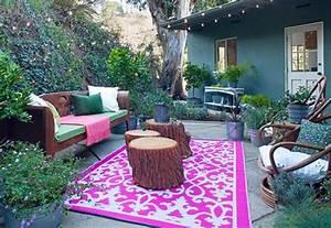 15 facons de decorer votre terrasse pour moins de 50 With exceptional photo amenagement terrasse exterieur 10 cuisine verte pas cher