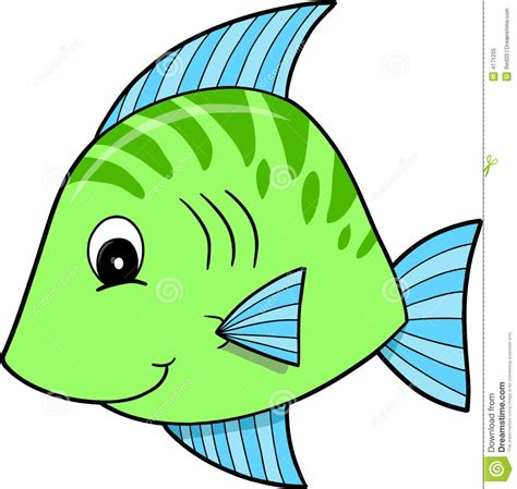 Fish Clipart - green fish vector elementary math fish clipart