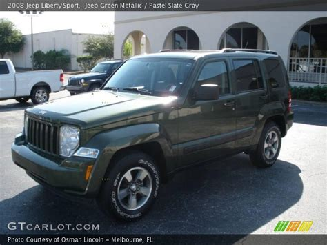 green jeep liberty 2008 jeep green metallic 2008 jeep liberty sport pastel