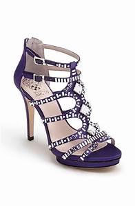 Purple shoes with an Ivory Dress? - Weddingbee