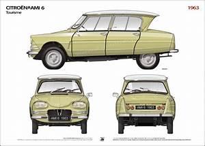 Citroën Ami 6 : 1963 citroen ami 6 tourisme ikonoto ~ Medecine-chirurgie-esthetiques.com Avis de Voitures