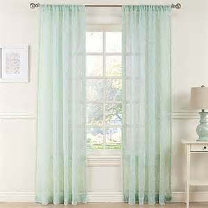 Mint Curtains Bed Bath And Beyond by Daydreamer Sheer Window Curtain Panel In Mint Bed Bath