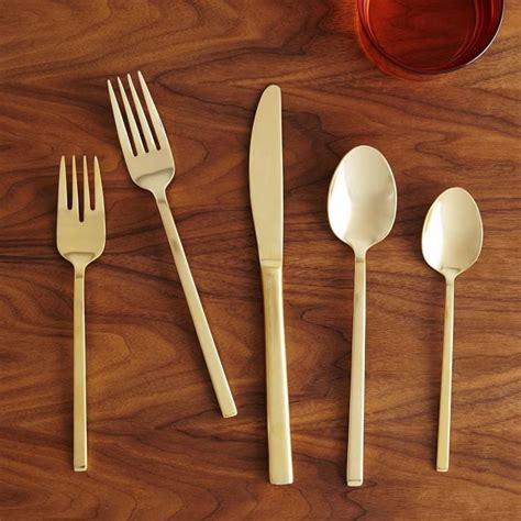 gold sets flatware popsugar