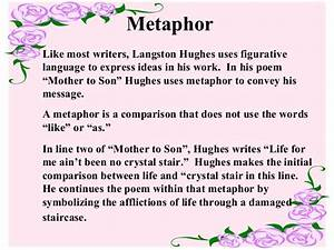 what is the meaning of the poem mother to son