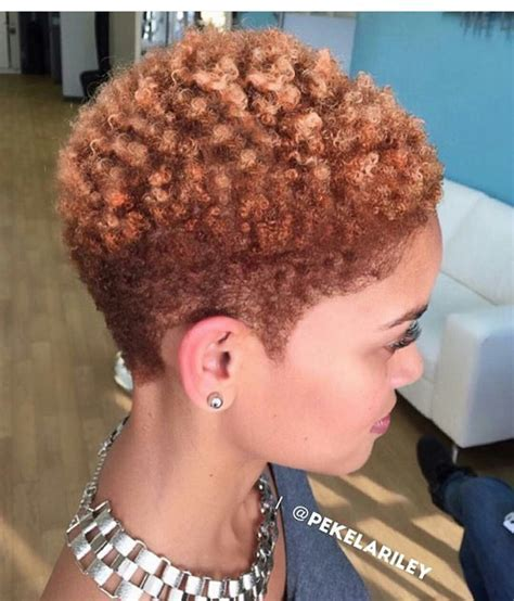 40 Cute Tapered Natural Hairstyles For Afro Hair Golden