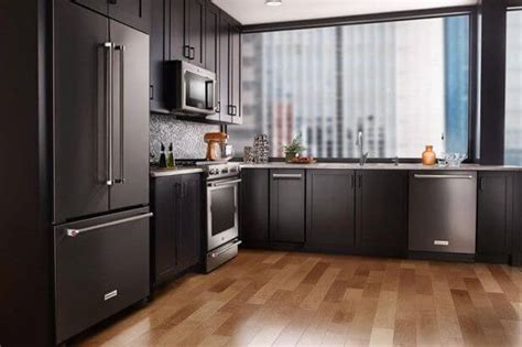 slate appliances bold kitchen cabinet colors