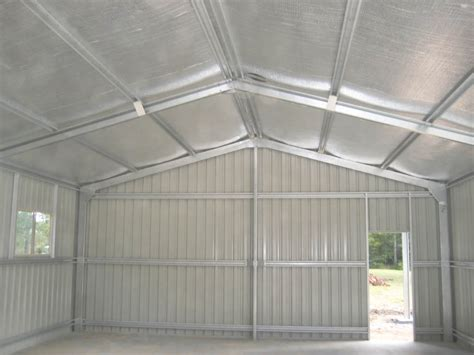 air cell insulation  shed install buy  steel sheds