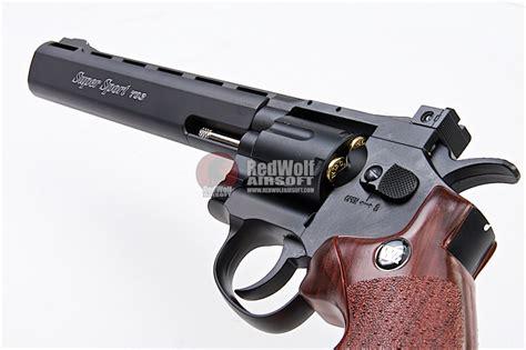 gun heaven wingun 703 8 inch 6mm co2 revolver brown