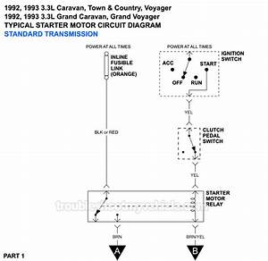 Chrysler Town And Country Starter Wiring Diagram