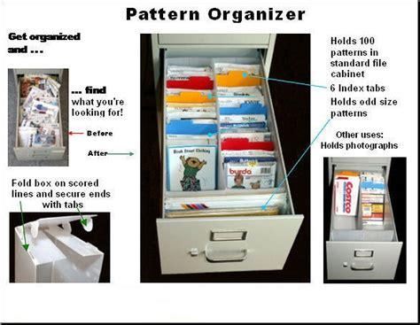Sewing Pattern Storage File Cabinets - Listitdallas