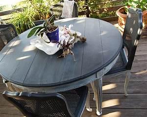Chaise Moderne Avec Table Ancienne : table ancienne style empire avec 5 chaises ~ Teatrodelosmanantiales.com Idées de Décoration