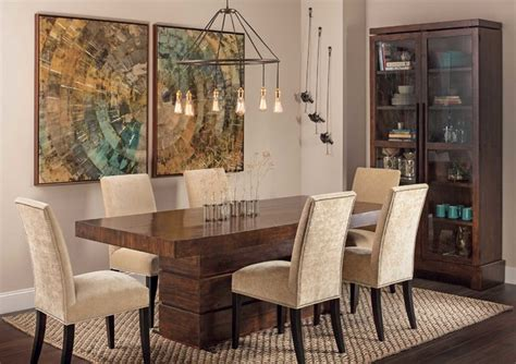 modern dining room rustic modern tahoe dining table eclectic dining Rustic