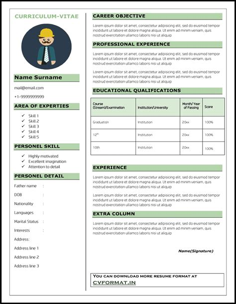 Preparing Resume For Freshers by 100 How To Make A Cv Resume For Freshers Format For Resume American Resume Format Resume In