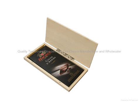 Silk Smoothy Wooden Boxes for Chocolate Bar EX W0216