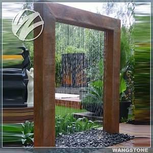 2016 best selling outdoor elaborate waterfall garden With französischer balkon mit wasserfall garten set