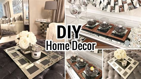 1 Dollar Home Decor : Dollar Tree Diy Mirror Trays!